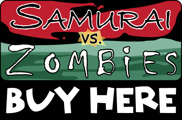 Buy Samurai vs. Zombies from theGameCrafter.com